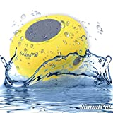 Bluetooth Shower Speaker - SoundPal Water Resistant Wireless and Hands-free Speaker Phone with Suction Cup - Compatible with All Bluetooth Devices - Works Great with Iphone and All Android Devices - Have Fun with This Speaker Indoor and Outdoor, in the Car, Pool, Shower Anywhere