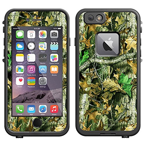Skin Decal for LifeProof Apple iPhone 6 Case - Camo Hunter Leaf