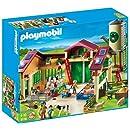 Playmobil 5119 La nouvelle ferme avec Silo
