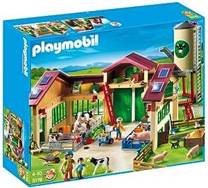 Playmobil - Granja con silo (626601)
