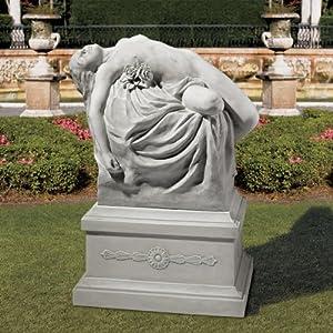 Design Toscano KY91448 Venus of Burrano Statue and Base Set