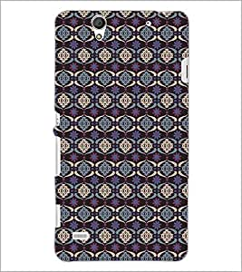 PrintDhaba Pattern D-5329 Back Case Cover for SONY XPERIA C4 (Multi-Coloured)