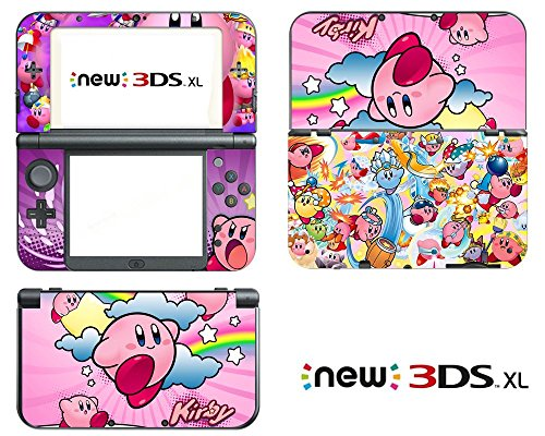 Vanknight Vinyl Decals Skin Sticker for the New Nintendo 3DS XL 2015 (Kirby 3ds Xl Decal compare prices)