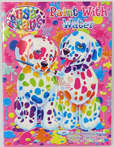 Lisa Frank coloring book, activity book, and water coloring book set ...