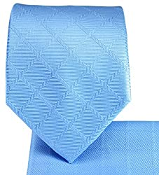 Necktie a. Pocket Square Set. Color on Color