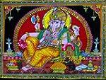 Cotton Canvas Lord Ganesh / Ganesha /...