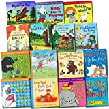 Julia Donaldson Julia Donaldson Collection 15 Children Books Set (Gruffalo, Wriggle and Roar, One Mole Digging A Hole, Hippo Has A Hat, Toddle Waddle, Rosie's Hat, One Ted Falls Out of Bed, Highway rat, Charlie Cook's Favourite Book, Tyrannosaurus Drip,