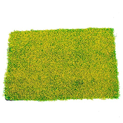 sonline-lherbe-verte-mat-chemin-de-fer-modele-de-formation-mise-en-page-20-x-30cm-w-fleur-jaune