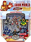 Super Hero Squad, Iron Man 3 Exclusive Figure Set, (Iron Man Mark 42, Ghost Armor, Deep Depth, Rapid Deploy, Iron Patriot & Mandarin), 6-pack by SportsMarket
