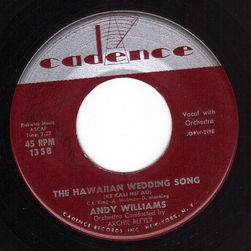 Andy Williams - House of bamboo (single) - Zortam Music
