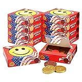 アメリカお土産 アメリカン スマイルチョコレート 10箱セット