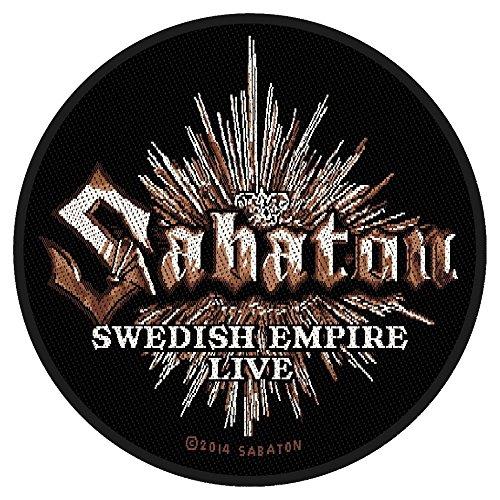 Targhetta vivigade - Sabaton - Swedish Empire Live