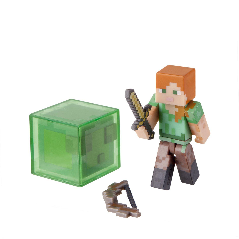 Minecraft Spieler Alex mit Zubehör