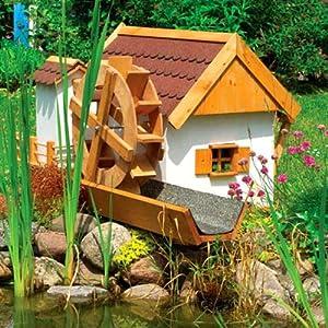 wasserm hle jever 110x74x59cm gartenm hle inkl elektrischer pumpe garten. Black Bedroom Furniture Sets. Home Design Ideas