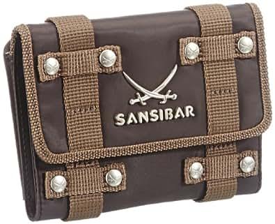 Sansibar Rio B-431 RI 64, Damen Geldbörsen, Braun (chocolate), 14x10x4 cm (B x H x T)