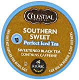 Green Mountain Coffee, Celestial Seasonings Southern Sweet Perfect Iced Tea, K-Cup Portion Pack for Keurig K-Cup Brewers, 22-Count, Garden, Lawn, Maintenance