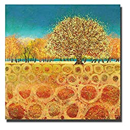 Beyond the Fields by Melissa Graves-Brown Premium Gallery-Wrapped Canvas Giclee Art (Ready to Hang)