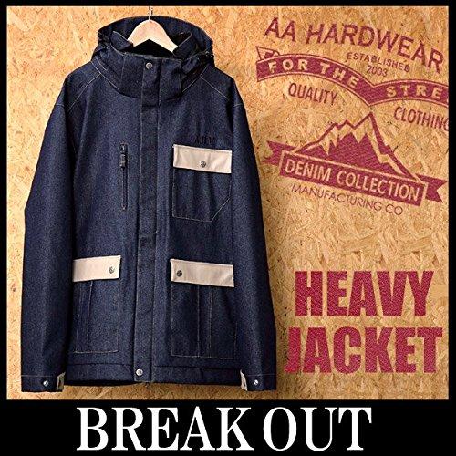 AA HARDWEAR 15-16 HEAVY JACKET DENIM COLLECTIONジャケット メンズ スノーボードウェア 2016 S DENIM