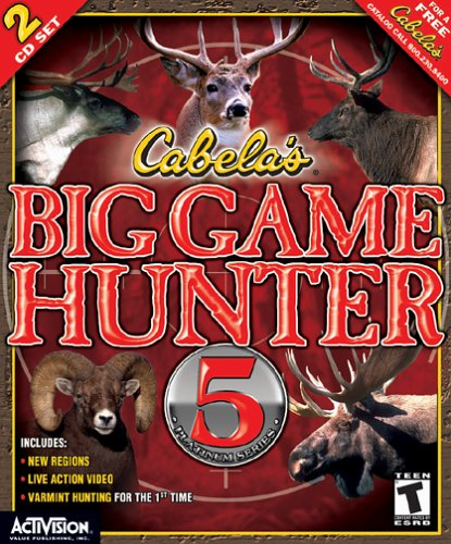 Cabela's Big Game Hunter 5 Platinum