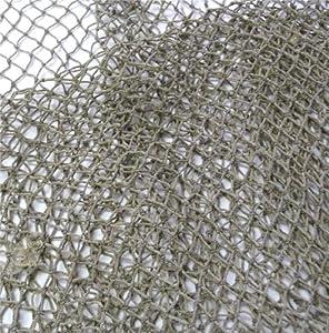 Nautical Decorative Fish Net 5 Foot X 10 Foot Fish Netting, Rustic Beach Decor