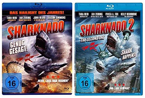Sharknado 1+2 ( Blu-ray ) ( Das Hailight des Jahres )