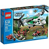 Lego City - 60021 - Jeu de Construction - L'avion Cargo