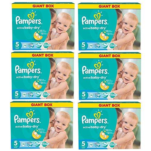 pampers-windeln-active-baby-dry-junior-gr-5-11-18-kg-bis-zu-468-stk-monatsbox-junior-6x78-stk-468