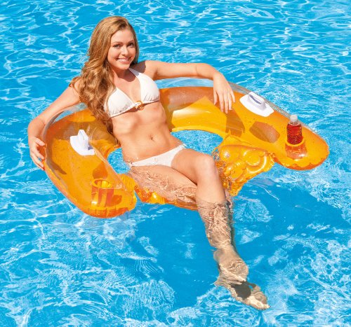 Intex Sit N Float Lounge Colors May Vary New Free