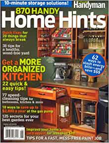 The family handyman magazine 2015 editors of 870 handy for Family handyman phone number