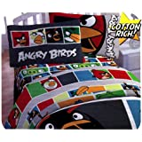 Angry Birds Cotton Rich Full Sheet Set