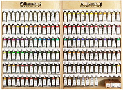 Viridian Green 150Ml Tube Williamsburg Handmade Oil Paint - Professional Artist Grade Studio Painting