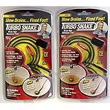 SET of 2 NEW Turbo Snake Drain Hair Removal Tool Sink Snake!!
