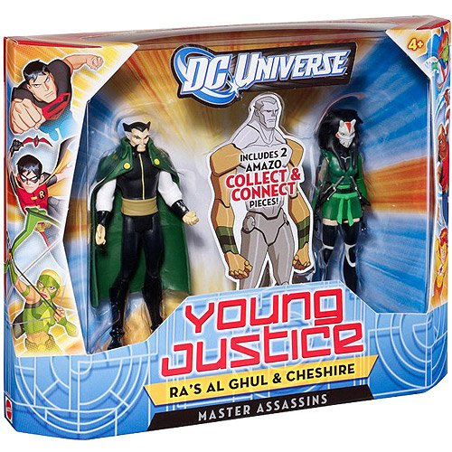 DC Universe Young Justice Ra\'s Al Ghul and Chesh - 1
