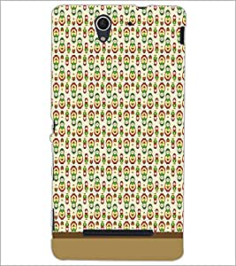 PrintDhaba Pattern D-1584 Back Case Cover for SONY XPERIA C3 (Multi-Coloured)