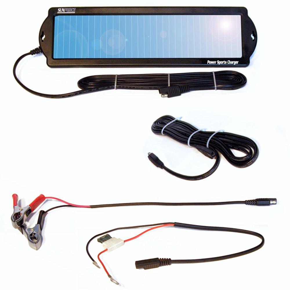 solar battery charger solar powered 12v 1 watt maintainer battery ...
