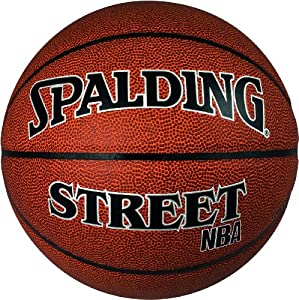 Spalding NBA Street Ballon de basketball mixte adulte Marron 7