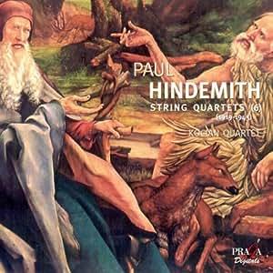 Hindemith - Six Quatuors à cordes