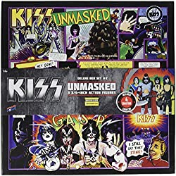 KISS Unmasked 3 3/4-Inch Figures Deluxe Box Set - Con. Excl.