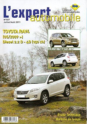 revue-technique-toyota-rav4-diesel-22-d-4d-150cv-depuis-05-2009-lea507-juillet-aout-2011