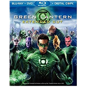 Green Lantern Movie on Blu-ray dvd digital combo
