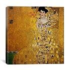 iCanvasART Gustav Klimt Portrait of Adele Bloch-Bauer I Canvas Art Print Painting Reproduction #1522 18x18 (.75 Deep)