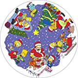 The Simpsons CC106 Christmas Montage Jigsaw Puzzle 500 pcs