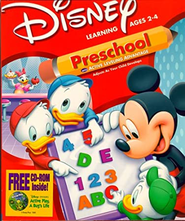 Disney's Mickey Mouse Preschool with Active Leveling Advantage