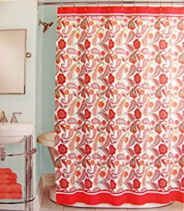 Peri Shower Curtain Fabric Boho Piasley 72 X