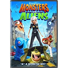 Monsters vs. Aliens: Seth Rogen, Reese Witherspoon, Hugh Laurie, Will Arnett, Paul Rudd, Rainn Wilson, Stephen Colbert, Kiefer Sutherland: Movies & TV
