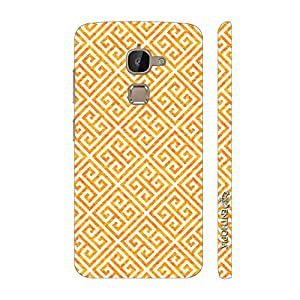 Enthopia Designer Hardshell Case The Yellow Greecian Look Back Cover for Letv Le 2s