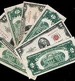 1963 'Red Seal' $2 Dollar Bill