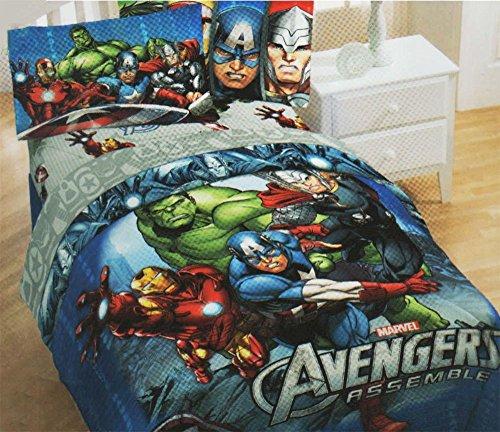 Superhero Bedding Twin 9149 front