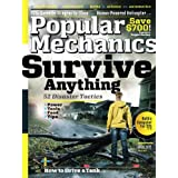 Popular Mechanics (1-year auto-renewal) ~ Hearst Magazines