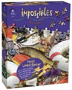 Impossible Puzzles 750 Pcs + 5   Hook , Line & Sinker
